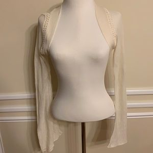 Vintage Anthropologie Knitted and Knotted Shrug